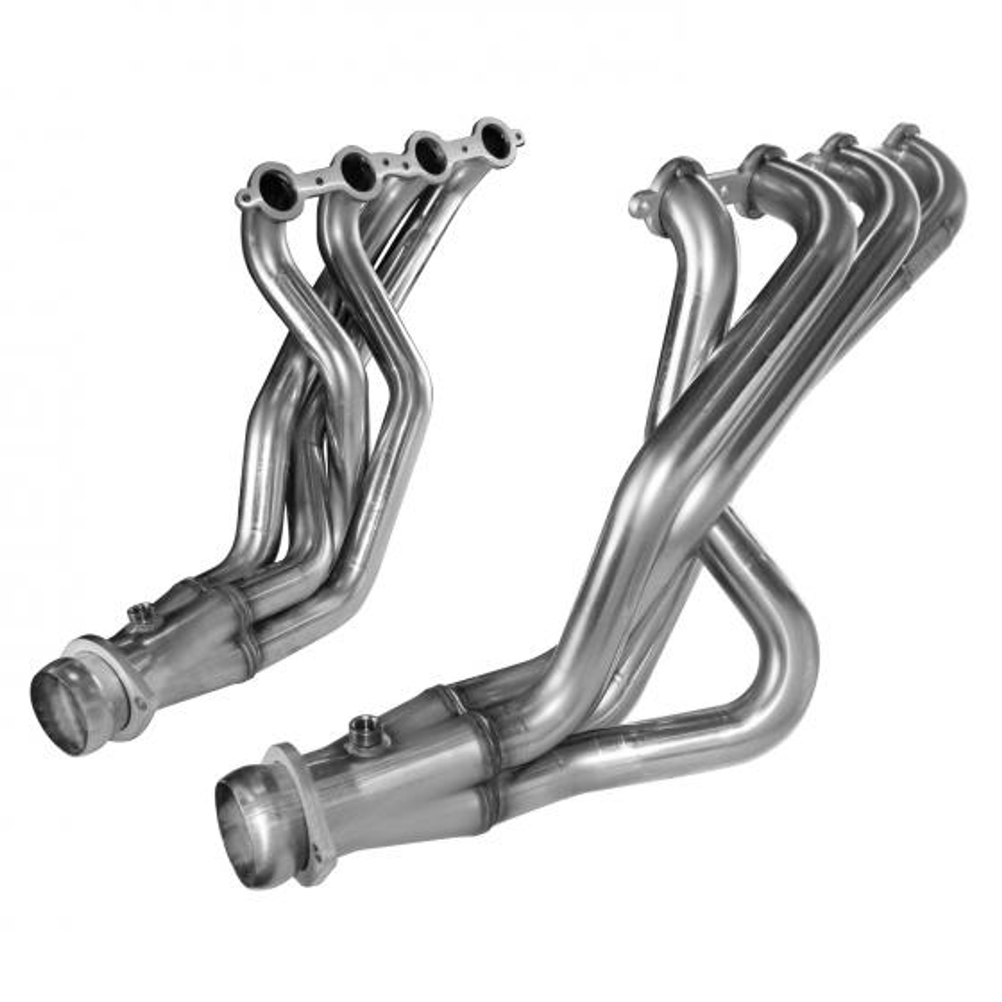 04-07 Cadillac CTS-V 1 7//8in x 3in SS Longtubeand OEM SS Off Road Connection Pipes Kooks 2310H410 Header