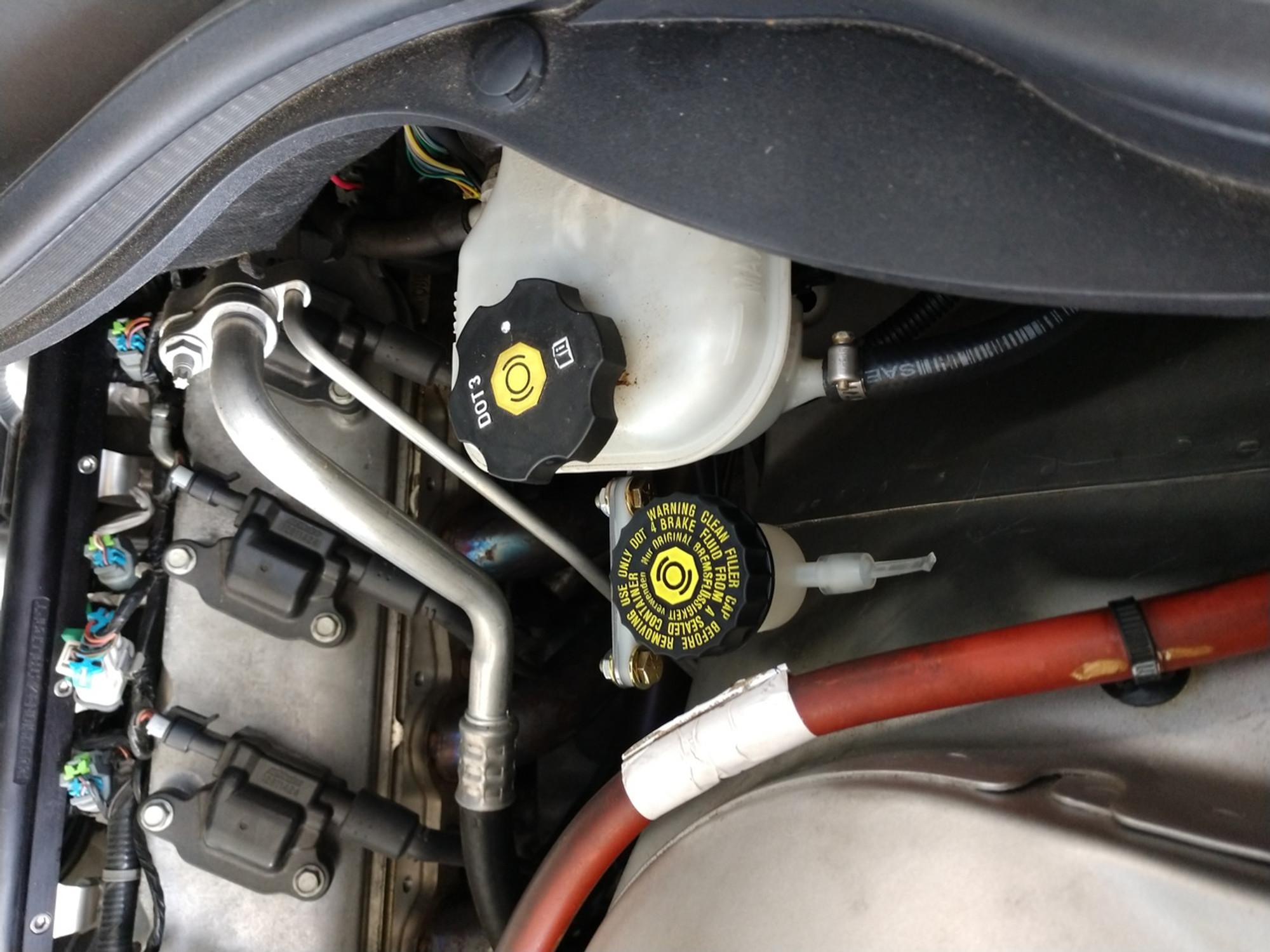 Tick Performance Remote Clutch Reservoir Kit for 2010-2015 Camaro, 2009  Pontiac G8 GXP
