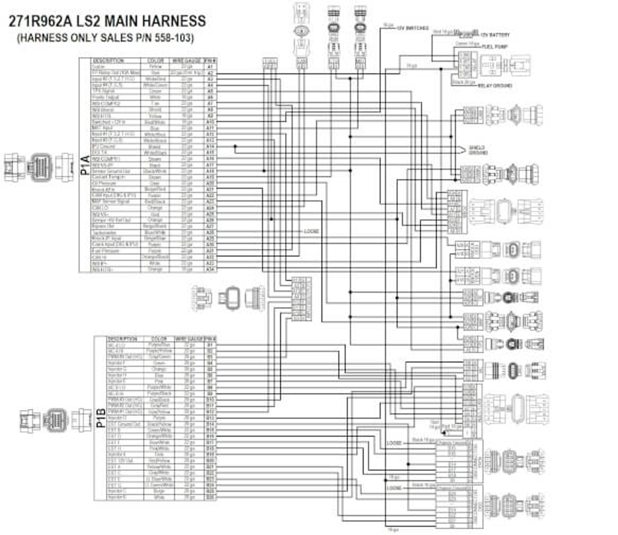 Ls2 Ignition Diagram | Wiring Diagram on