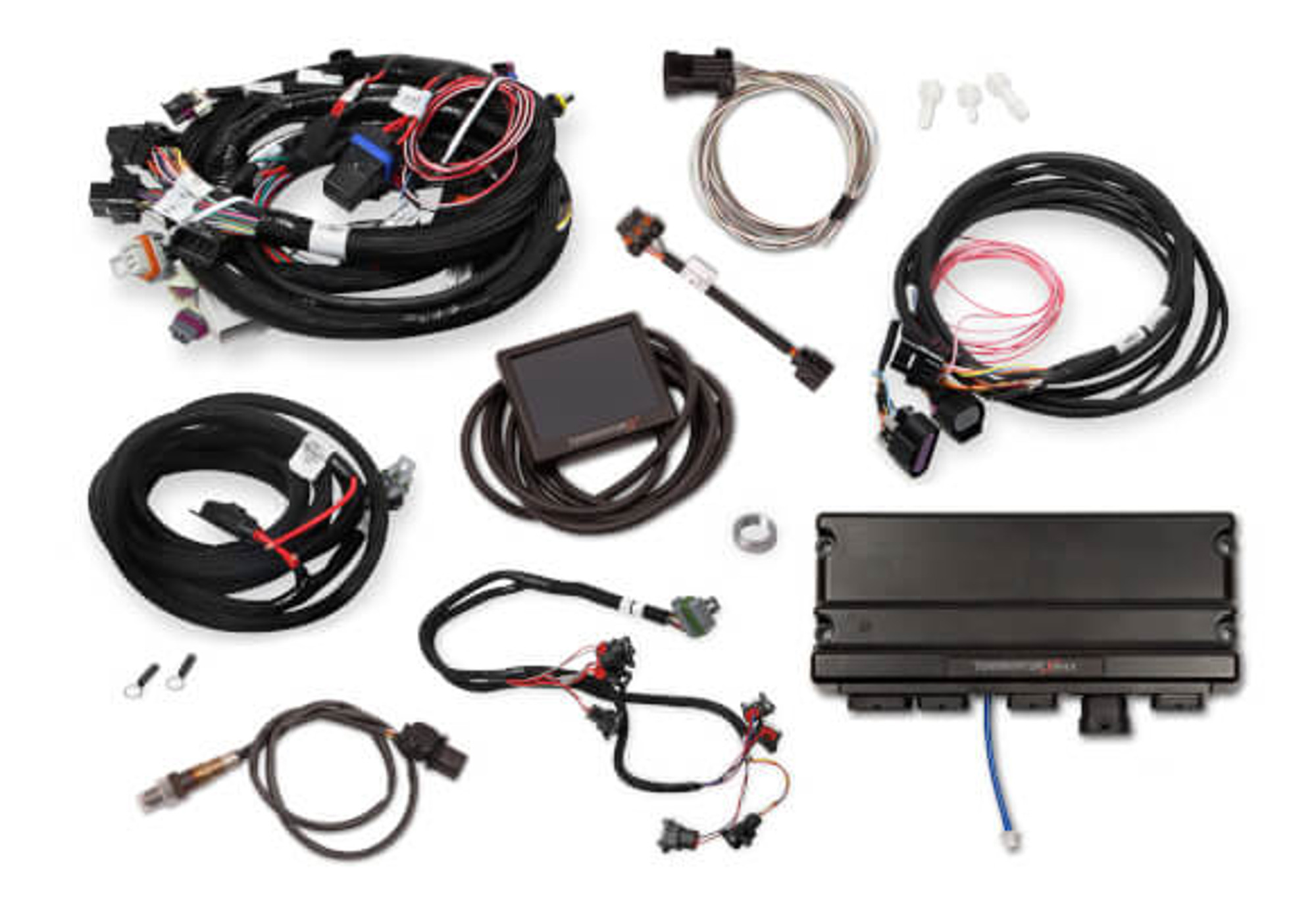 Holley EFI Terminator X MAX LS1 24X/1X MPFI Kit with DBW Throttle  on