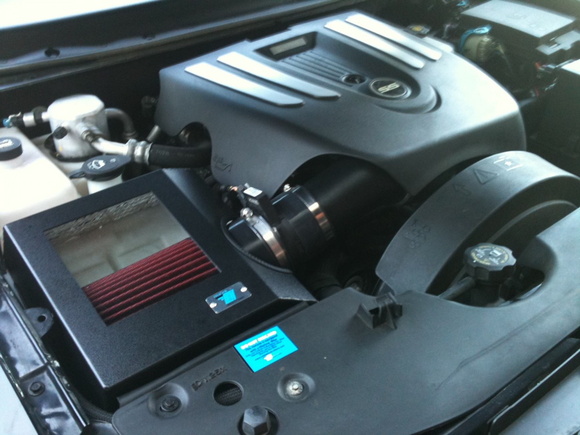 Cold Air Inductions Intake System (Black Textured Powder Coated) 2006-09  Trailblazer SS