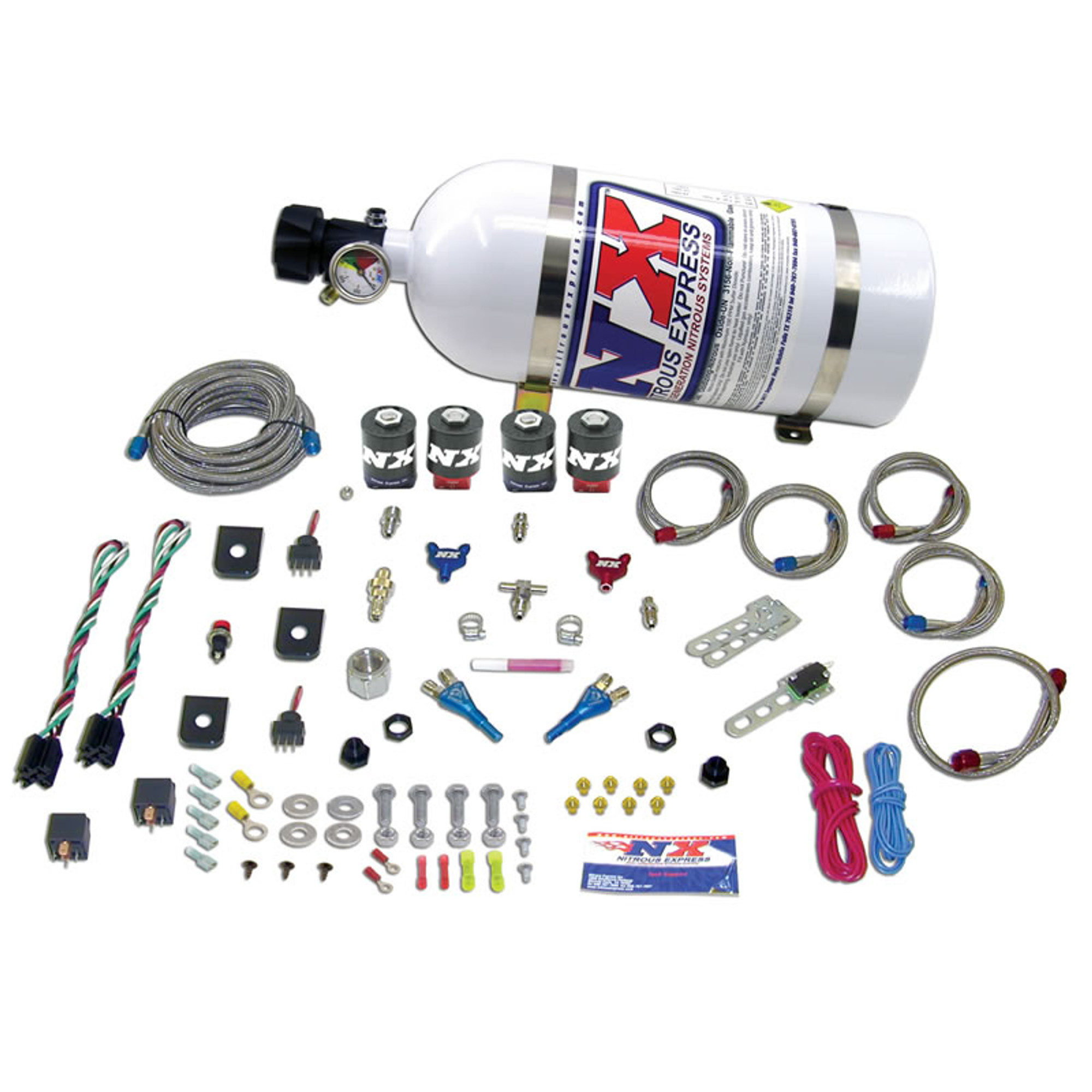 Nitrous Express 20927-00 35-75 HP x 2 Sport Compact EFI Dual Stage System System