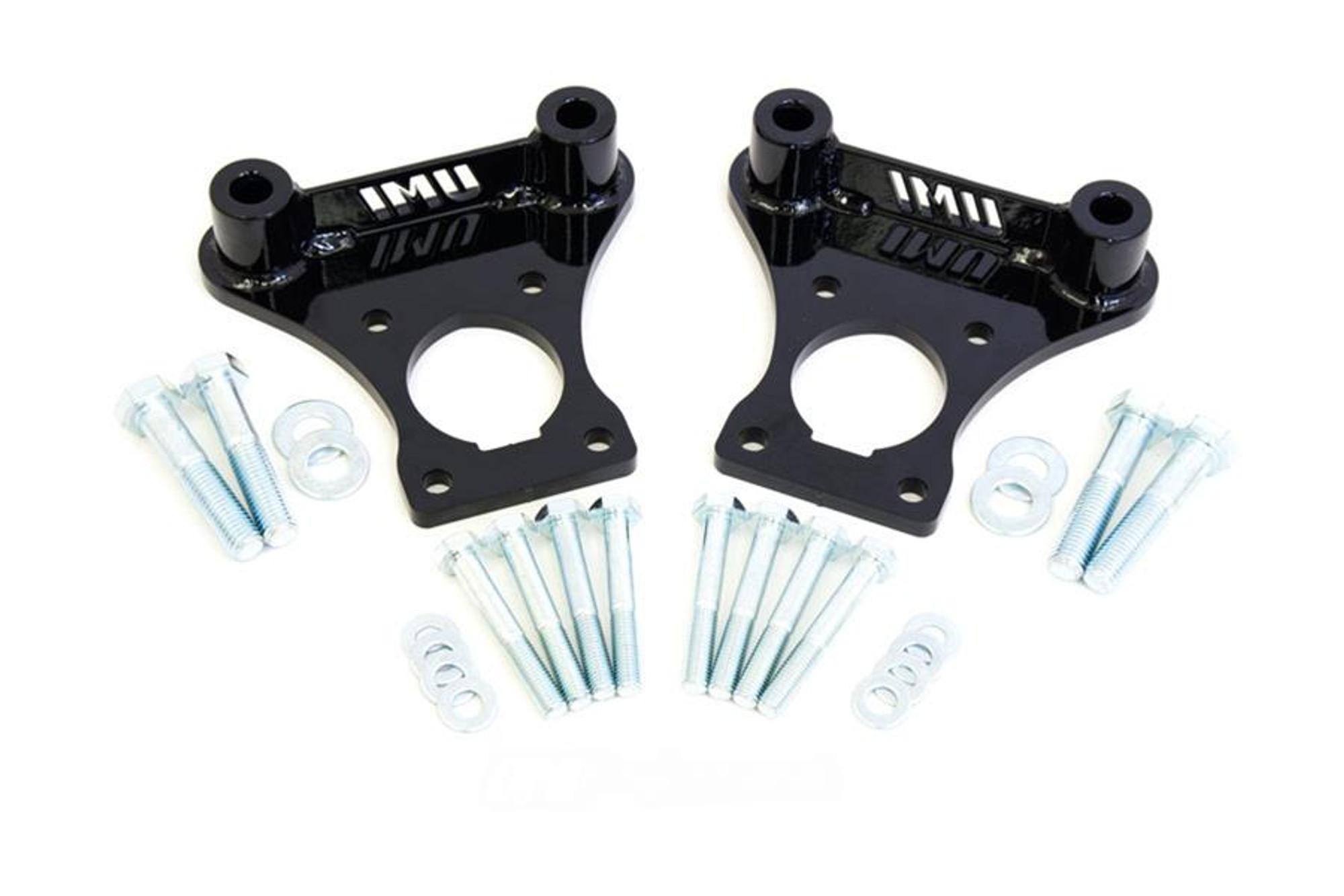 UMI Performance 1993-2002 Camaro, Firebird, & Trans Am C5/C6 Brake  Conversion Brackets