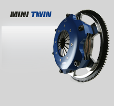 Generic SPEC Mini Twin Clutch Kit Shown