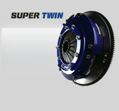 Generic SPEC Super Twin Clutch Kit shown