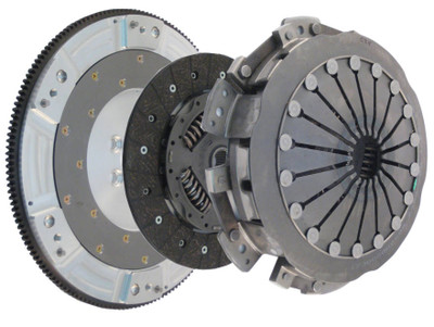 Katech LS9X Twin Disk Clutch & Flywheel Kit for 2004-2007 Cadillac CTS-V, LS6 or LS2 (torque capacity: 800+)