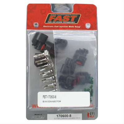 FAST Injector Conn.Kit-Uscar(8-Pack, Part #170600-8