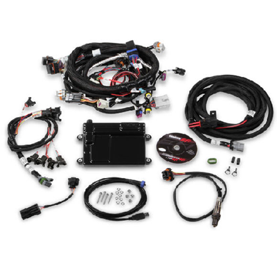 Holley Multi-Point EFI System, HP ECU and Harness Bosch Injectors NTK for LS2, LS3 & LS7, Part #550-607N