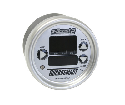 TurboSmart e-Boost 2 66mm Silver Silver, Part #TS-0301-1004