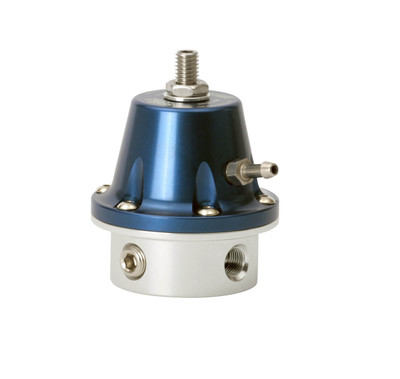 TurboSmart Fuel Pressure Regulator 800v2 1/8 NPT-Blue, Part #TS-0401-1001