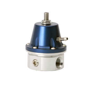 TurboSmart Fuel Pressure Regulator 1200v2 -6 AN-Blue, Part #TS-0401-1003
