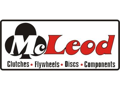 """McLeod Heatshield Steel 18 Rivet Pattern 10.5"""" O.D. .140 Thick, Part #504105-18"""