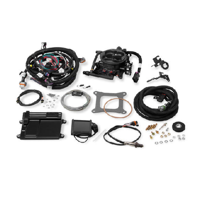 Holley Terminator Hardcore Gray LS TBI Kit for LS1 & LS6 with 24x Reluctor, Part #550-410