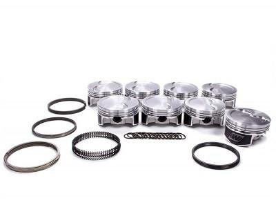Wiseco Piston Kit LS Series -15cc R/Dome 1.110x4.075, Part #K445X75