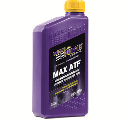 Royal Purple Transmission Fluid, Max ATF, Synthetic, Quart, Part #01320