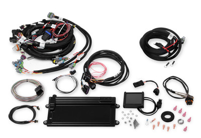 Holley Multi-Point EFI, Terminator MPFI, LS2/3 & Late Truck, with Drive By Wire, Part #550-611