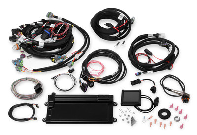 Holley Multi-Point EFI System, Terminator MPFI, LS2, LS3 & Late Truck, with Drive By Wire & Trans Control, Part #550-613
