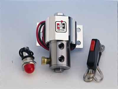Hurst Universal Brake Line Lock Kit, Roll/Control w/Stainless Valve, Part #1745000