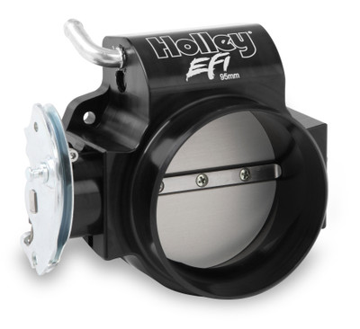 Holley EFI Billet Throttle Body, 95mm with Tapered Bore for LS Engines, Part #112-585