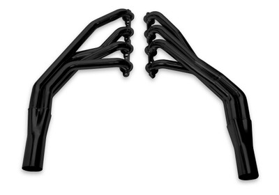 Hooker Supercomp LS Swap Headers (Black) for 1955-57 Chevy, Part #2292HKR