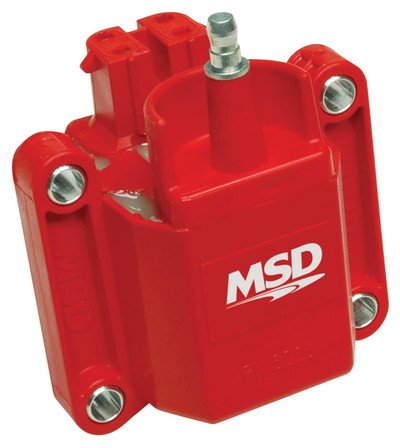 MSD Coil for Dual Connector GM Applications, Fits in Factory Brackets (thru 1995) Part #8226