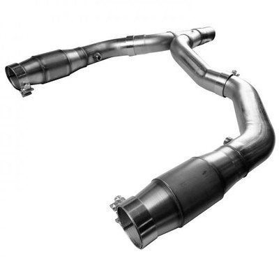 """Kooks 3"""" x OEM Catted Y-Pipe for 1998-2002 Camaro, Firebird, & Trans Am #22413200"""