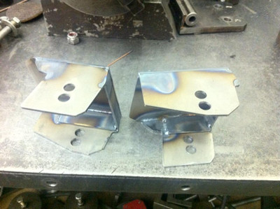 G-Force Engineering 2004-2006 GTO & Holden VZ Rear Cradle Boxes - Welded, Part #GTO10504W
