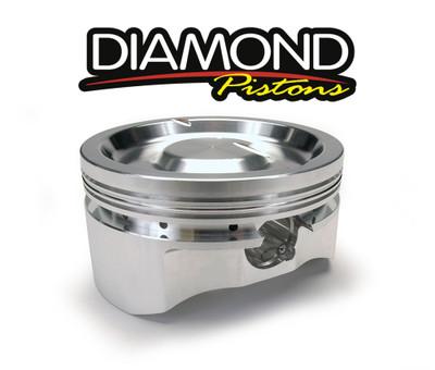 Diamond Racing Pistons Complete Piston Set, Part #11557R1