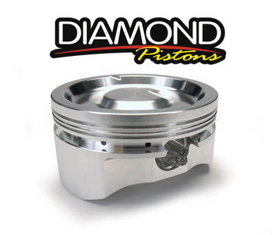 Diamond Racing Pistons Complete Piston Set, Part #11596R1
