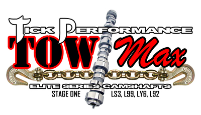 Tick Performance towMAX Stage 1 Camshaft for LS3, L99, LY6 & L92 Engines