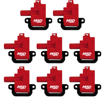 MSD Blaster Coil 8-Pack for 1998-06 LS1 & LS6 Engines, Part #82628