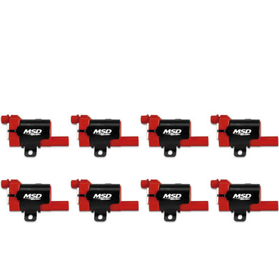 MSD Coils Blaster for GM LS Truck 1999-07, 8-Pack, Part #82638