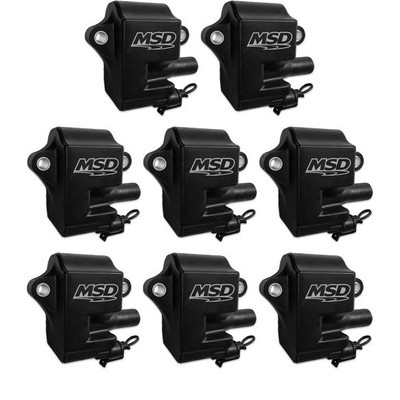 MSD Coils Black for LS1 & LS6 Engines, 8 Pack, Part #828583