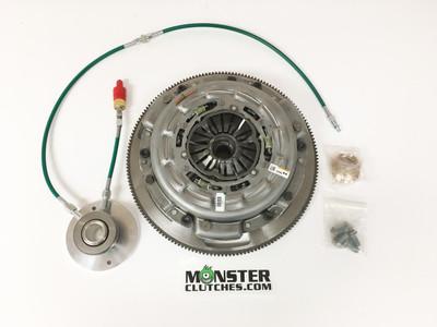 Monster LT1-S Organic Triple Disc Clutch and Flywheel Package (Torque Capacity: 1150RWTQ)