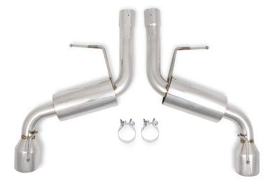 "Flowtech Axle-Back Exhaust System for 2016-18 Camaro SS 6.2L (w/o NPP) 2.75"" Stainless Steel, Part #51606FLT"