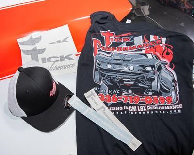 Official #TeamTick Enrollment Merchandise Package