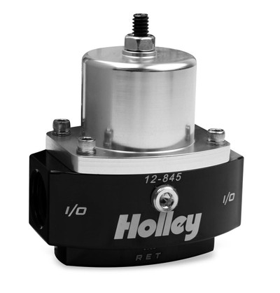 Holley Carbureted Regulators, Billet Fp Reg, Adj 4.5-9 Psi 8An In/2X 6An Out By-, Part #12-845