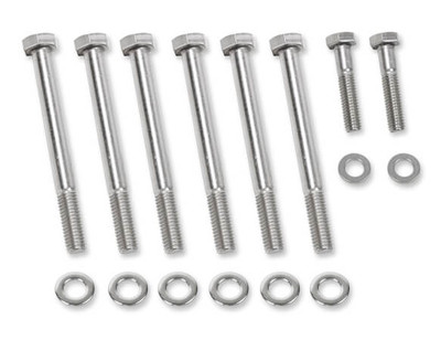 Mr. Gasket Polished Stainless Steel Water Pump Bolts for GM LS Engines #60931G