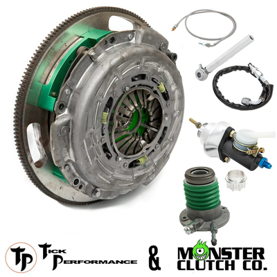 Tick & Monster Complete Clutch & Hydraulic Upgrade Package for 2005-13 Corvette C6, Z06, & ZR1