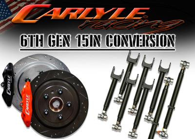Carlyle Racing 6th Gen Camaro 15″ Pro Kit PN: 16-209-6-16