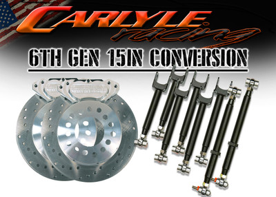 Carlyle Racing 6th Gen Camaro 15″ Pro Race Only Kit PN: 16-AC-533-6-16-1
