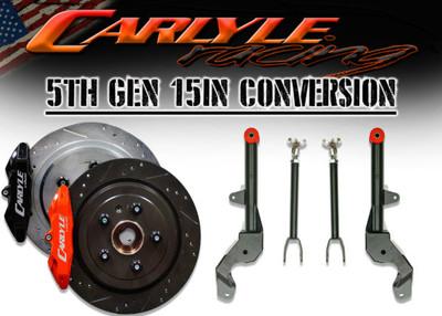 Carlyle Racing 5th Gen Camaro 15″ Kit PN: 15-209-1015