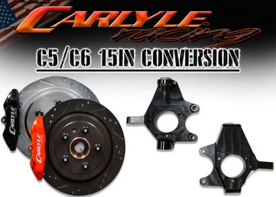Carlyle Racing C5/C6 15″ Conversion Kit