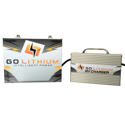 GO Lithium GEN 2 16 Volt Intelligent Power Racing Battery/Charger Combo *** Includes One Battery and One High Speed Charger ***