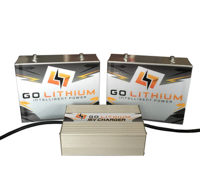 GO Lithium GEN 2 16 Volt Intelligent Power Racing Battery/Charger Combo *** Includes TWO Batteries and One High Speed Charger ***