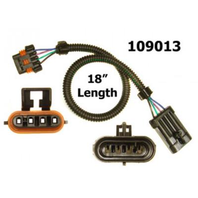 Caspers Electronics 18 in Oxygen Sensor Extension Harness, Flat, Part #109013