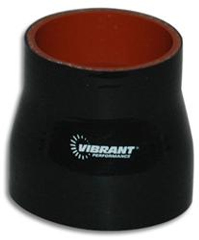 """Vibrant Performance Reinforced Silicone Hose Coupler 4"""" to 4.5"""" ID, 3"""" length PN: 2837"""
