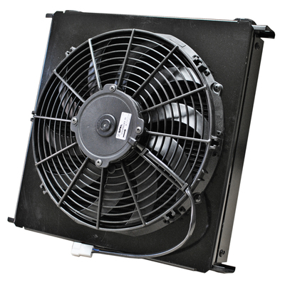 Setrab 9 Series 48 Row Fluid Cooler with Fan & Shroud PN: FP948M22I