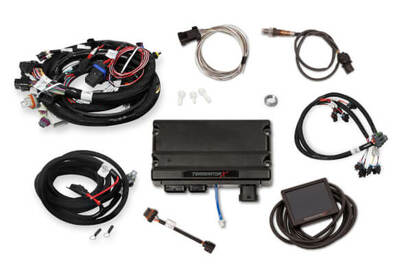 Holley EFI Terminator X Early Truck 24X/1X LS MPFI Kit #550-904