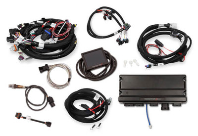 Holley EFI Terminator X MAX LS1 24X/1X MPFI Kit with Transmission Controller #550-916